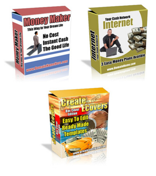 Product picture Software/Ebook Cover Photoshop Action Script