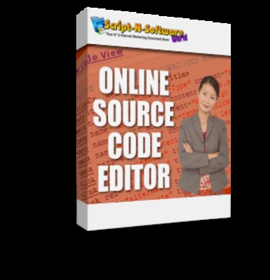 Product picture Online Website Source Code Editor w/MRR